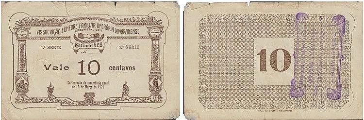 Cédula - Guimarães 10 Centavos 1921