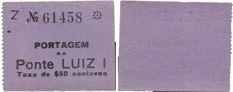 Cédula - Porto 50 Centavos N/D