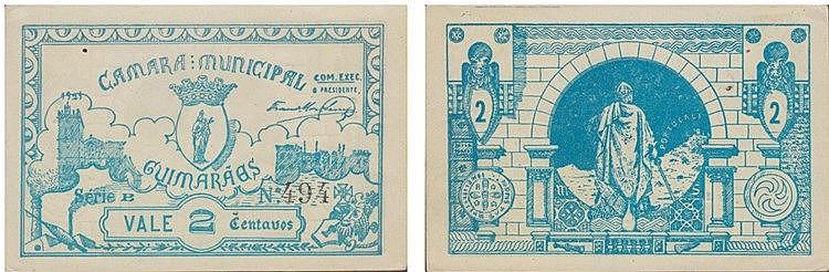 Cédula - Guimarães 2 Centavos 1921