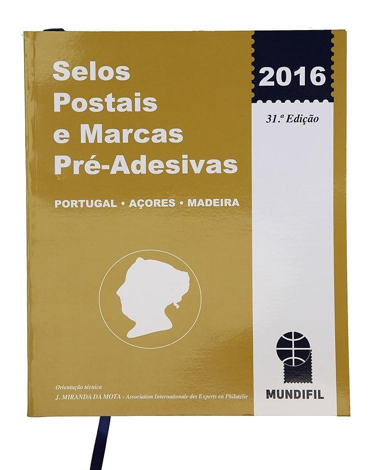 Book - Selos Postais e Marcas Pré-Adesivas 2016