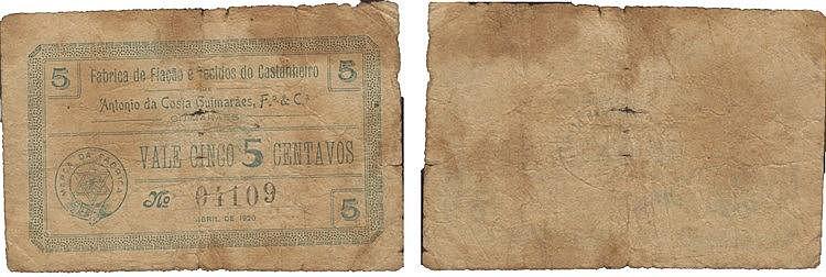 Cédula - Guimarães 5 Centavos 1920