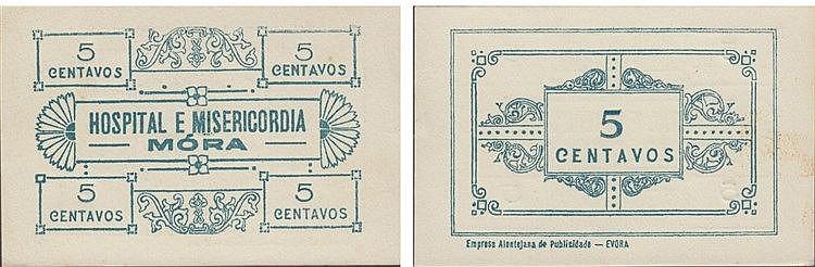Cédula - Mora 5 Centavos N/D
