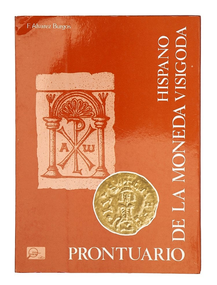 Book - Prontuario de la Moneda Hispano Visigoda