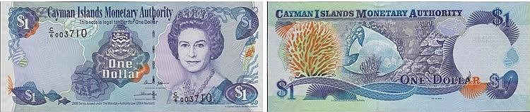 Paper Money - Cayman Islands Dollar 2006