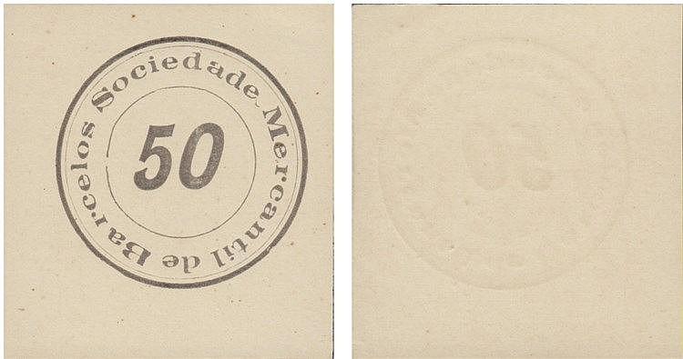 Cédula - Barcelos 50 Reis N/D