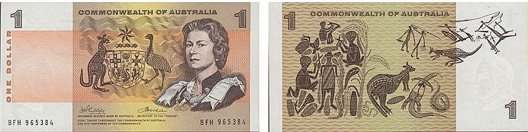 Paper Money - Australia Dollar ND (1966-72)