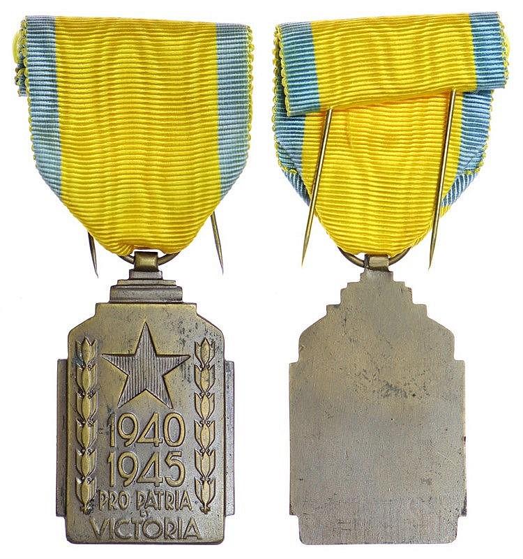 Medal - Belgium - Effort de Guerre Colonial 1947