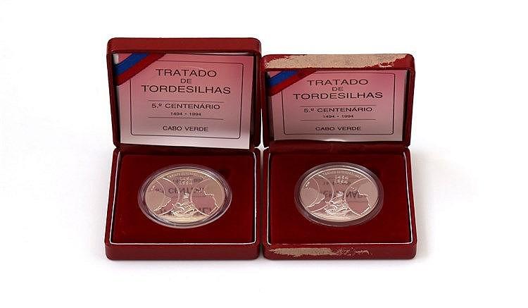 Cabo Verde - 2 coins 1000$00 1994