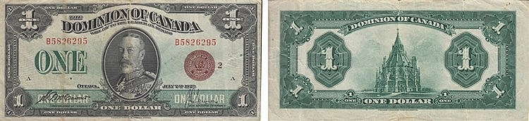 Paper Money - Canadá Dollar 1923