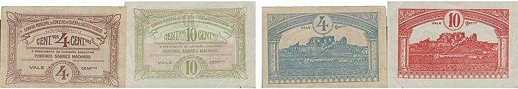Cédula - Figueira de Castelo Rodrigo 2 expl. 4, 10 Centavos N/D