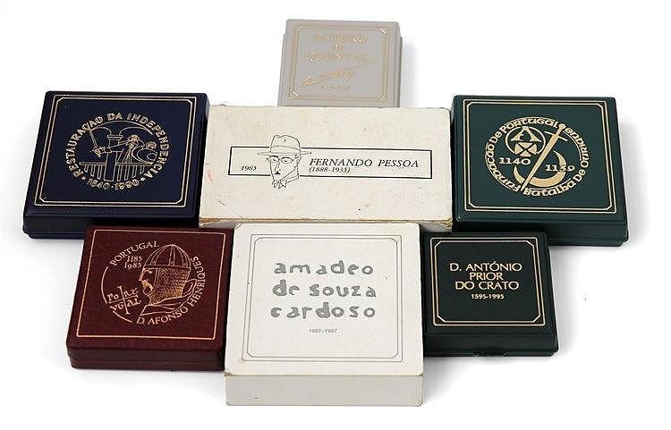 Portugal . Republic - 8 coins 100$, 250$ 1985-1995