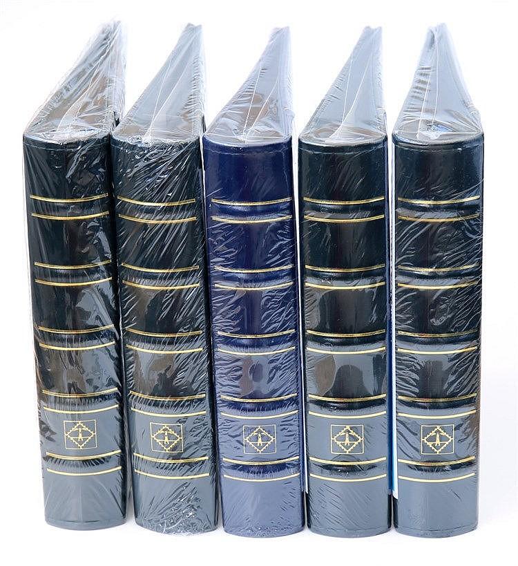 Material Numismático - 5 Álbuns para colecções