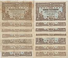 Cédula - Casa da Moeda 14 expl. 20 Centavos N/D
