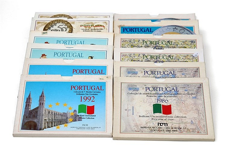 Portugal - Republic - 12 Portfolios BNC 1986-1995