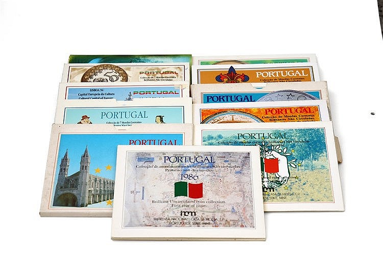 Portugal - Republic - 11 Carteiras BNC 1986-1997