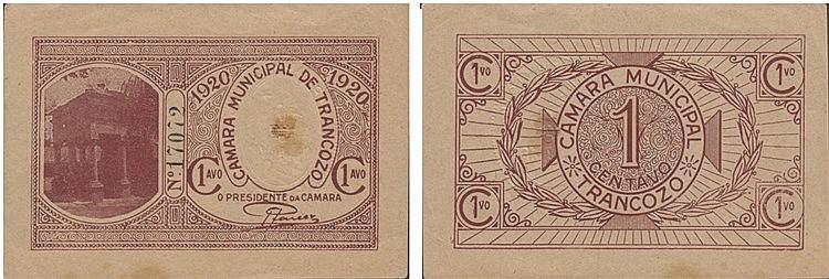 Cédula - Trancoso 1 Centavo 1920