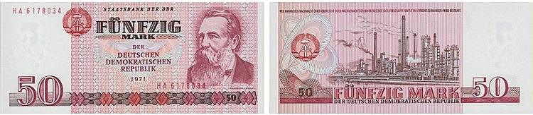Paper Money - Germany 50 Mark 1971