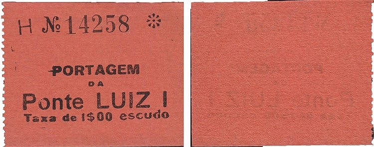 Cédula - Porto 1$00 N/D