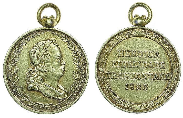Portugal - Medal - Heróica Fidelidade Trasmontana 1823