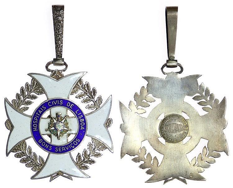 Portugal - Medal - Hospitais Civis de Lisboa séc. XX