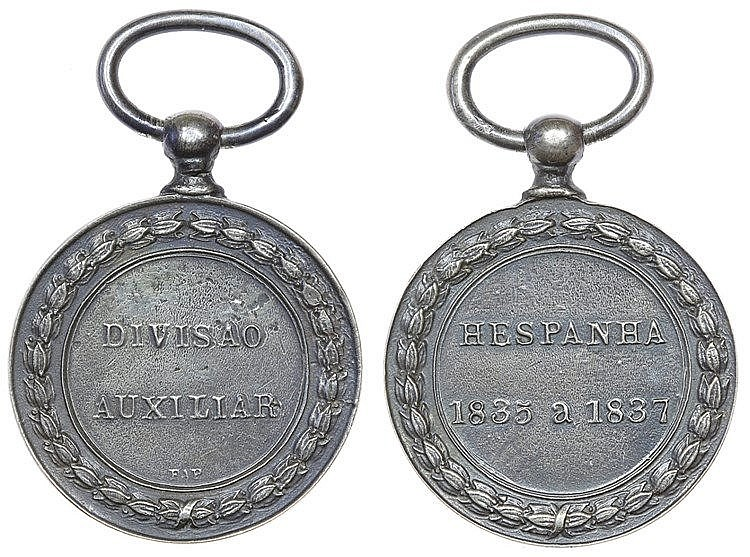 Portugal - Medal - Divisão Auxiliar 1835-1837