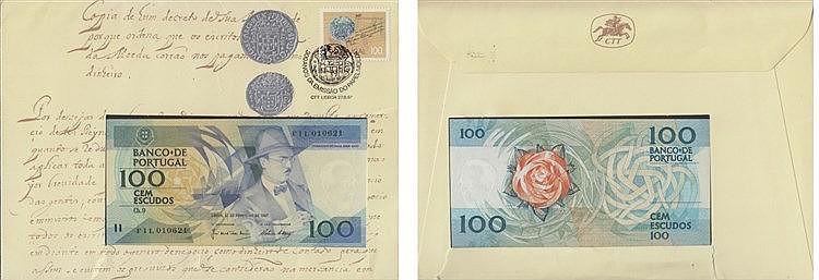 Paper money - 100$00 ch. 9 1987