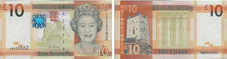 Paper money - Jersey 10 Pounds ND (2010)