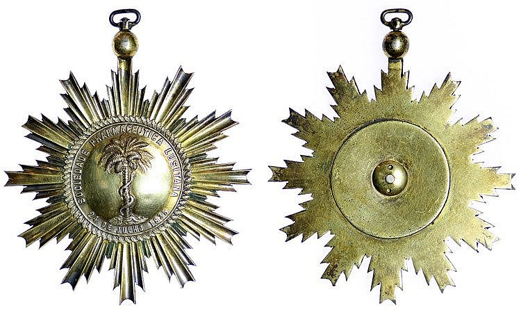 Portugal - Medal - Sociedade Pharmaceutica Lusitana 1835, RARE