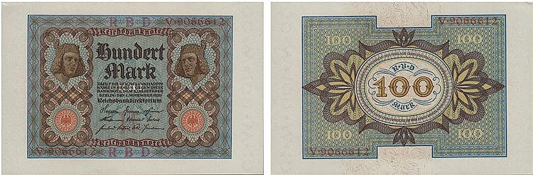 Paper Money - Germany 100 Mark 1920