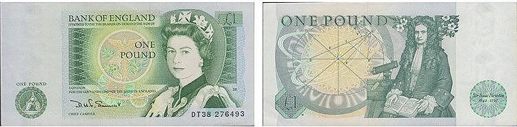 Paper Money - Great Britain Pound ND (1981-84)