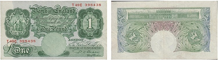 Paper Money - Great Britain Pound ND (1948-60)