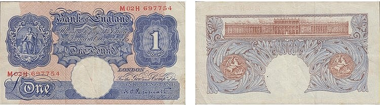 Paper Money - Great Britain Pound ND (1940-48)