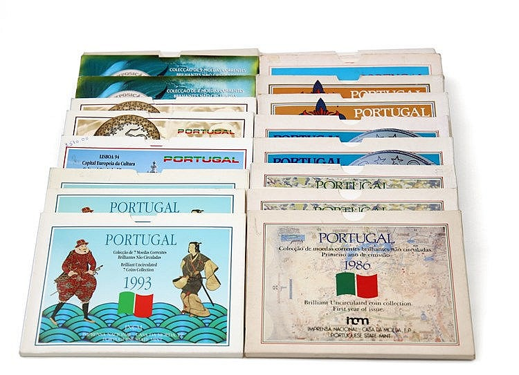Portugal - Republic - 18 Portfolios BNC 1986-1997
