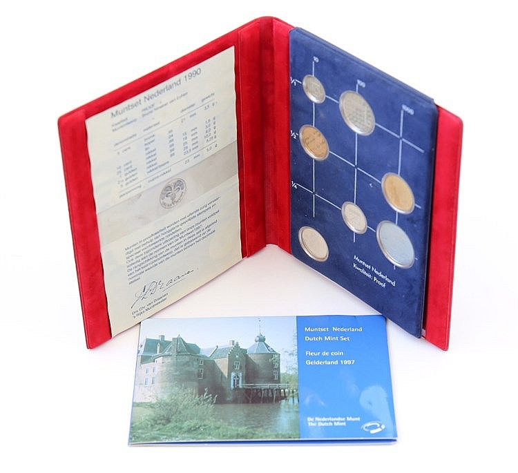 Netherlands - 2 Portfolios BNC/PROOF 1990-1997