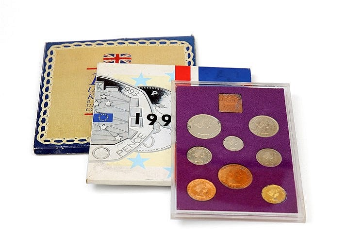 Great Britain - 3 Portfolios BNC/PROOF 1970-1992