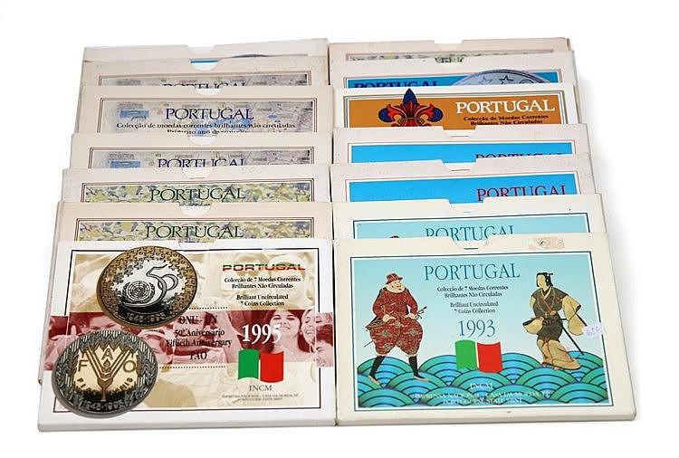 Portugal - Republic - 14 Portfolios BNC 1986-1995