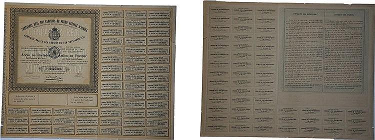 Título de Acção - 90$000 1886