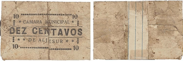 Cédula - Aljezur 10 Centavos N/D