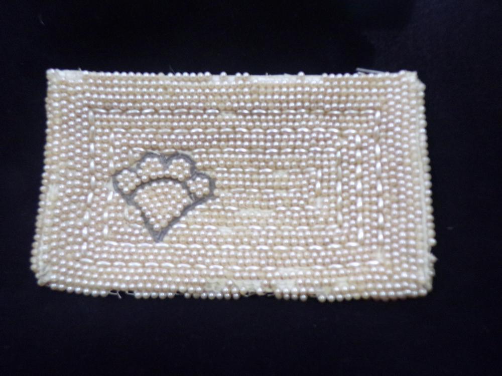 Vintage Japanese Pearl Purse