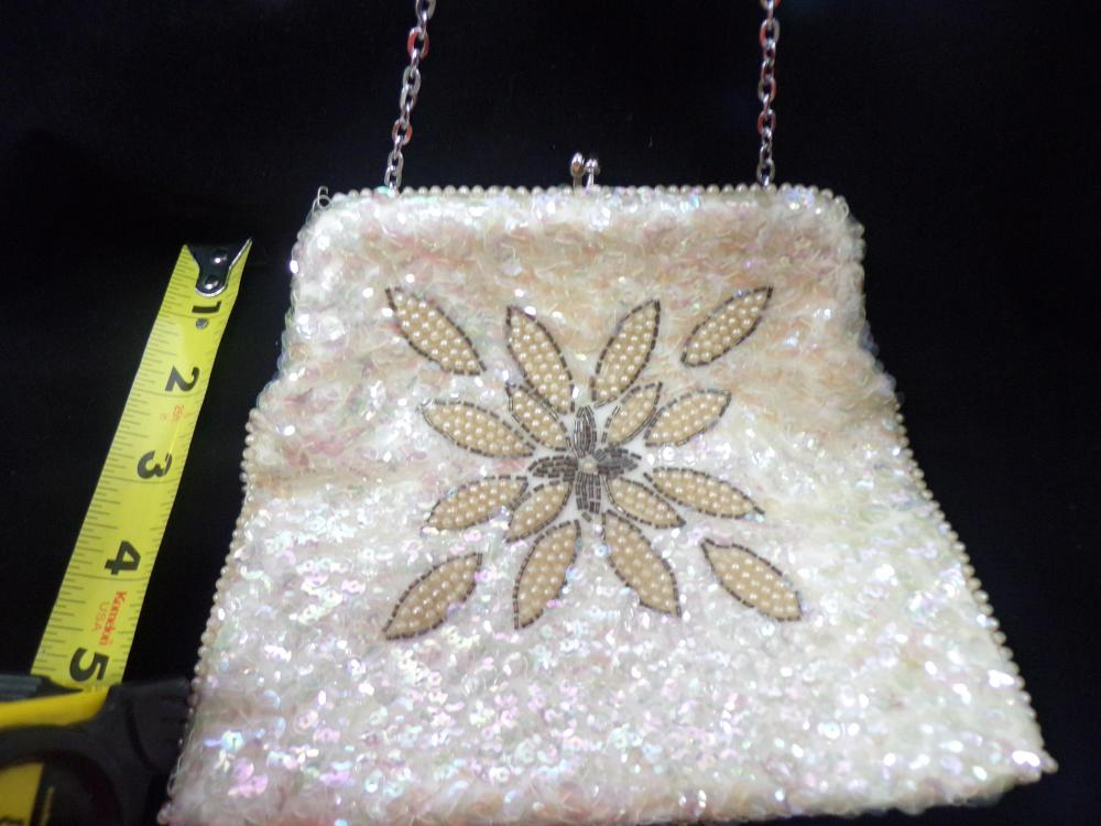 Vintage Japanese Purse with American Sequins