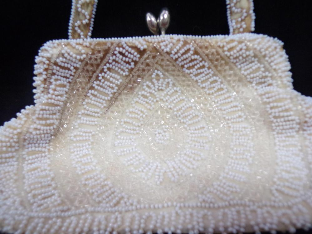 Vintage West Germany Hand Made Beaded Purse