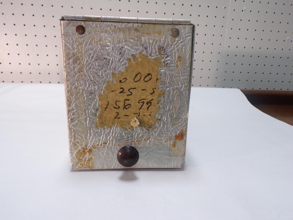 Prescription File Box (Aluminum)