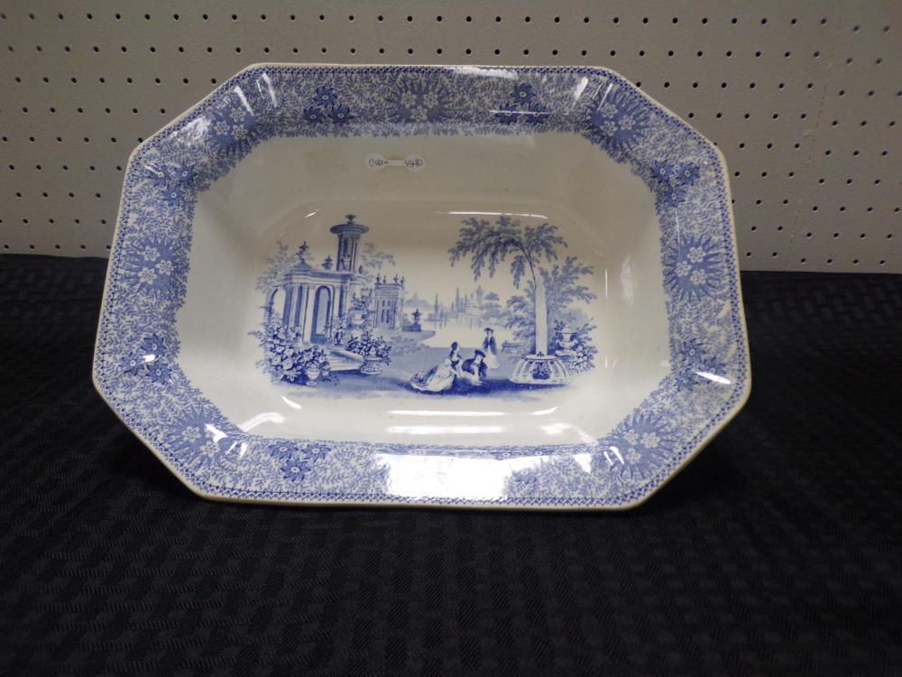 Antique 1840's Adam & Sons Bowl