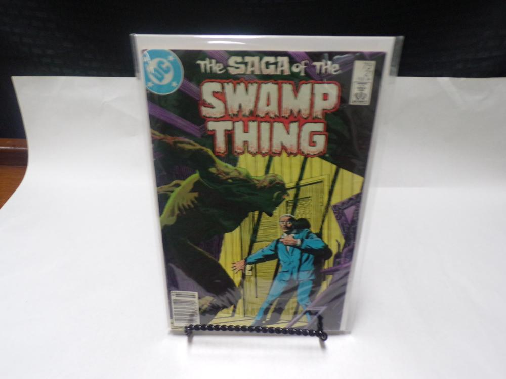 The Saga of the Swamp Thing DC Comic Book