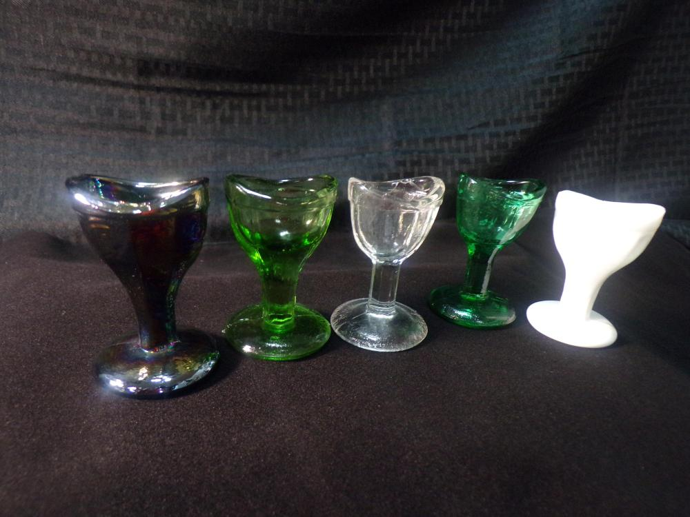 Lot of 5 Eye Wash Cups