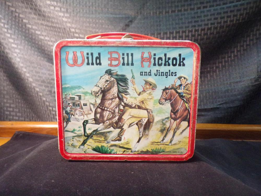 1965 Wild Bill Hickok Lunchbox