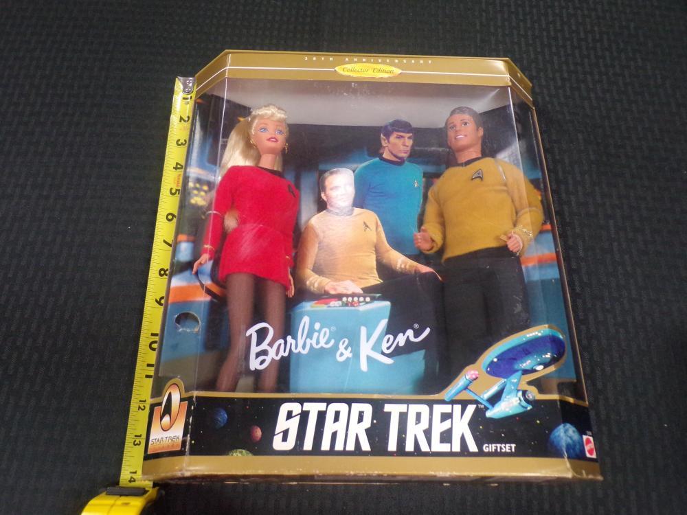 Barbie and Ken Star Trek