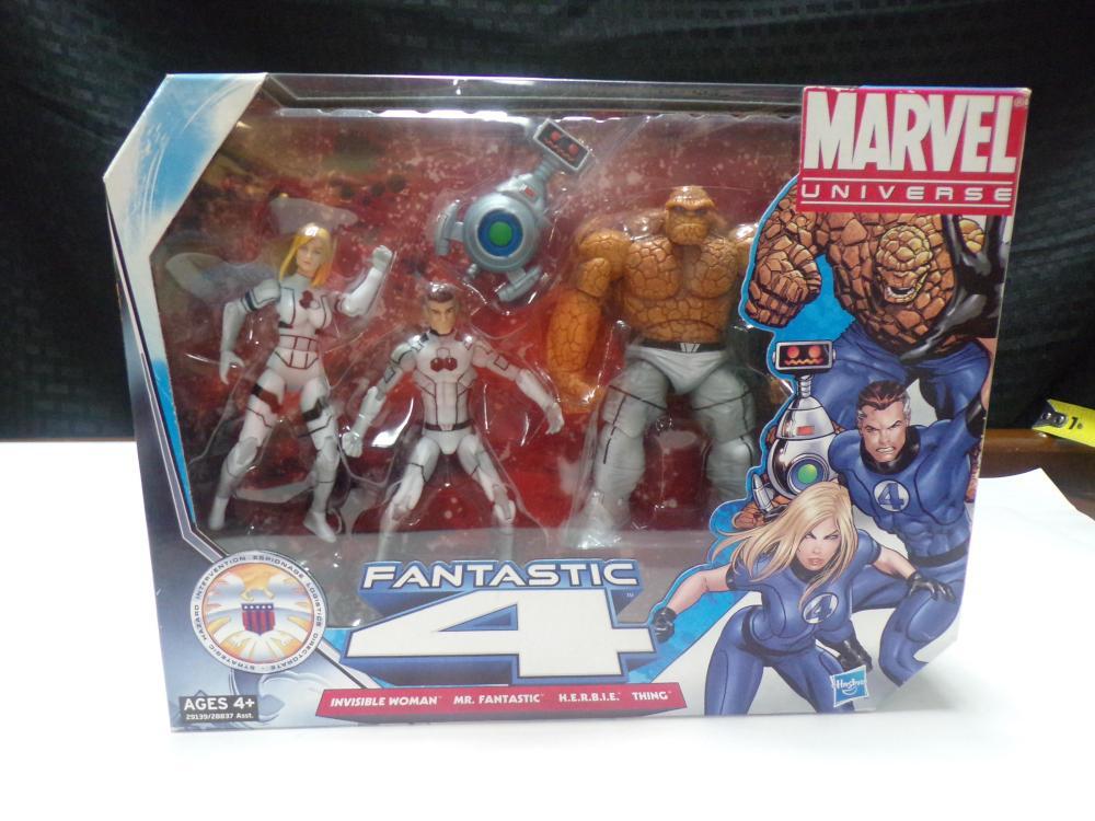 Marvel Universe Fantastic 4 Action Figures