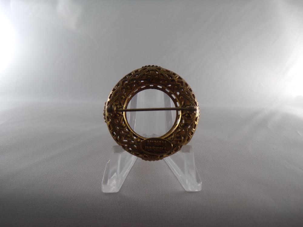 Miriam Haskell pin