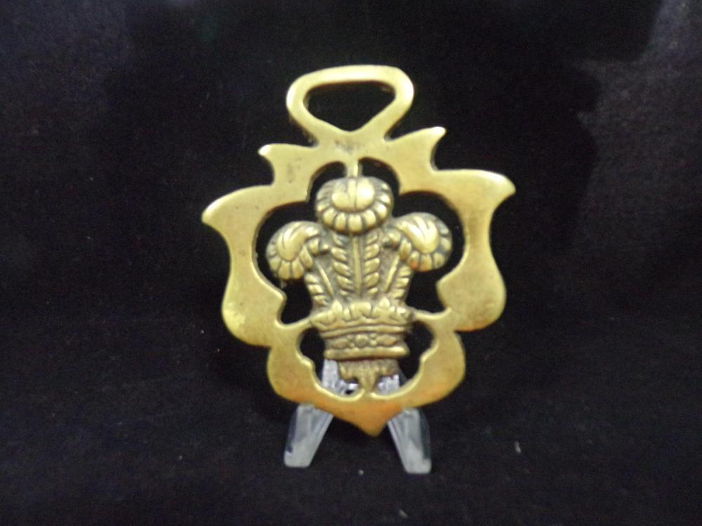 Flower Urn Saddle Medalion